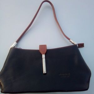 Florence Italy Black Leather Classic Purses